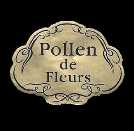 1000 Etiquettes de Pollen de Fleurs