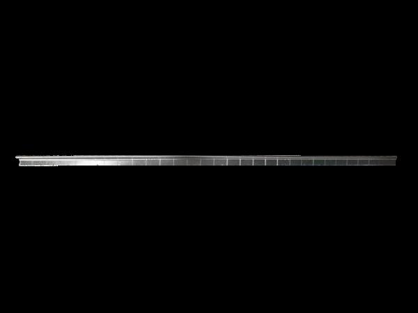 2 Bandes lisses pliée 375 x 0.5mm