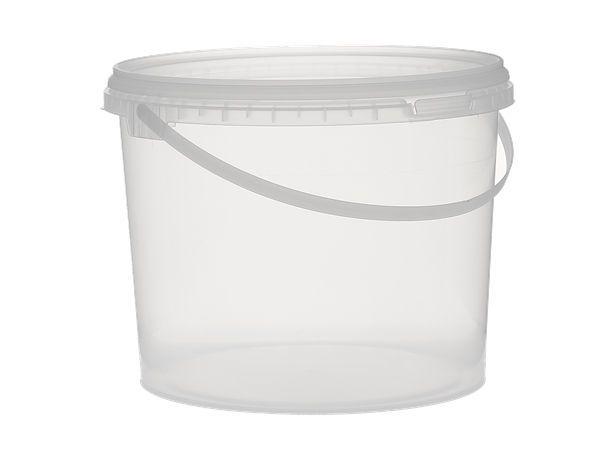 Seau cristal plastique 3L