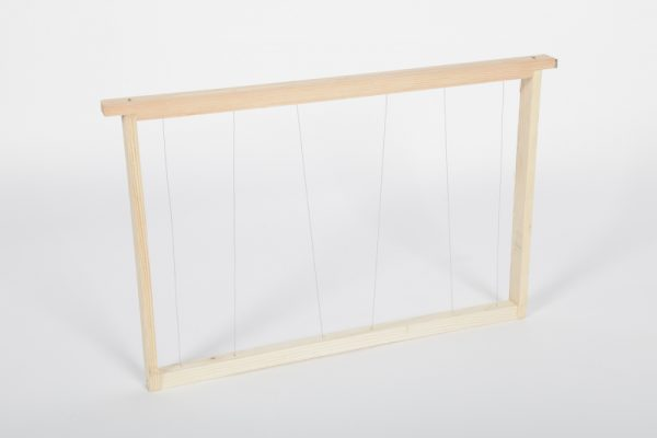 Cadre Dadant Eco corps fils verticaux/obliques inox