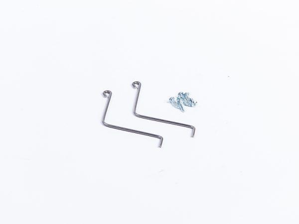 2 Fixes-éléments Galvanisé avec visserie