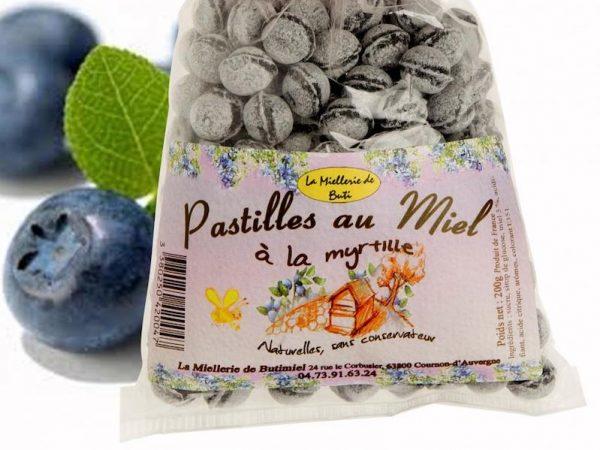 Bonbon Myrtille et Miel