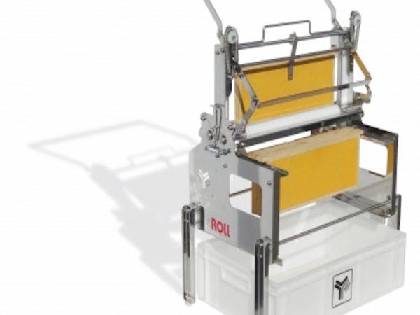Machine à Désoperculer Lega Roll Dadant Manuelle Verticale à Sillons