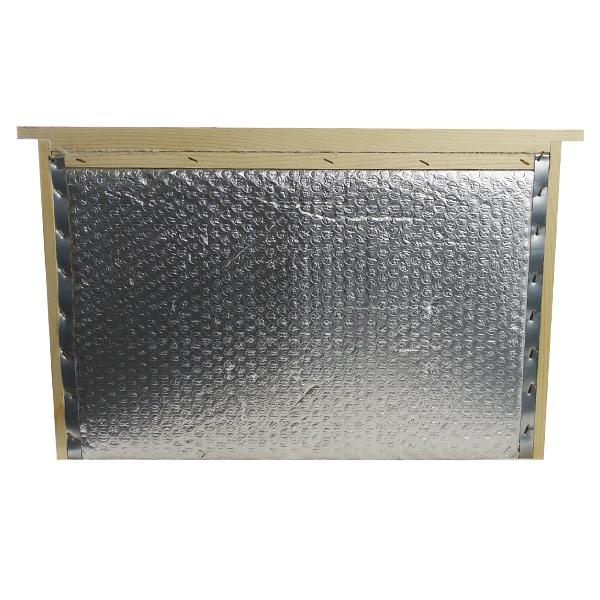 Partition isolante pour ruche Dadant en bois et aluminium