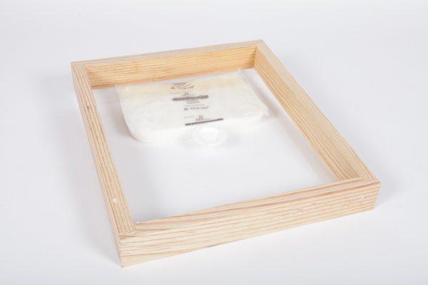 Couvre-cadres «visio» Dadant 10 encadré 60 mm (7/3/50) plexiglass 3 mm , avec bouchon percé
