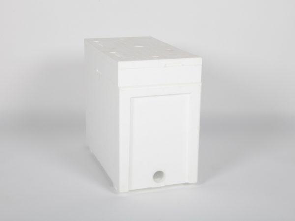 Ruchette polystyrène Dadant 6 haute densité Lega Blanche